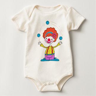 Juggling Clown Baby Bodysuit