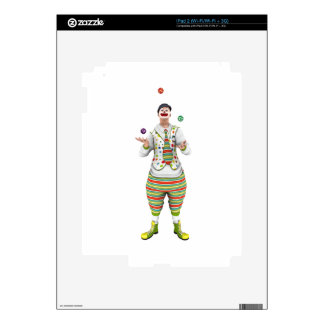 Juggling Clown Decal For The iPad 2