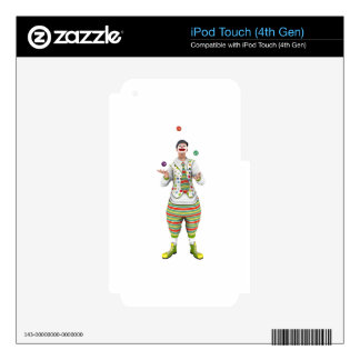 Juggling Clown iPod Touch 4G Skin