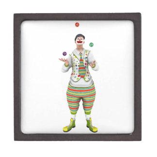 Juggling Clown Jewelry Box