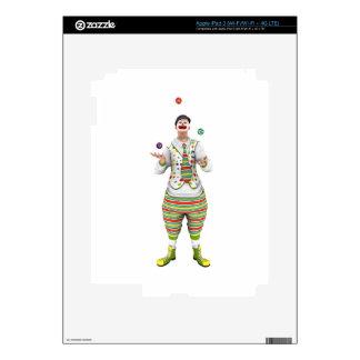 Juggling Clown Skin For iPad 3