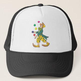 Juggling Clown Trucker Hat