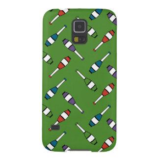 Juggling Club Toss Green Galaxy S5 Case