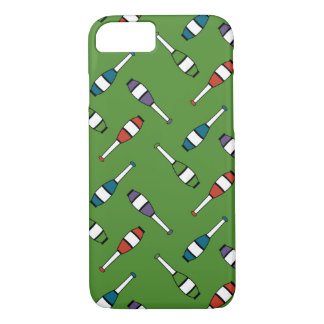 Juggling Club Toss Green iPhone 8/7 Case