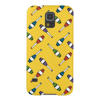 Juggling Club Toss Yellow Case For Galaxy S5