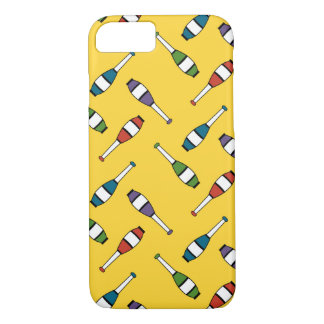 Juggling Club Toss Yellow iPhone 8/7 Case