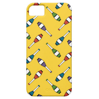 Juggling Club Toss Yellow iPhone SE/5/5s Case