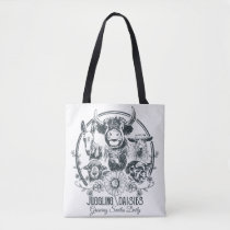 Juggling Daisies Farm Family Double Sided Bag