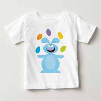 Juggling Easter Bunny Baby T-Shirt