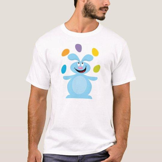 Juggling Easter Bunny T-Shirt