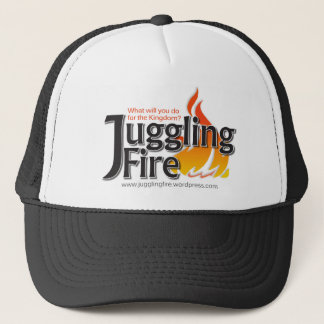 Juggling Fire Shirts, Hats, Baby Jumpers Trucker Hat