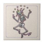 Juggling Jester Skeleton II Tile