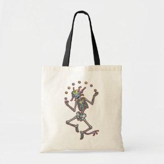 Juggling Jester Skeleton II Tote Bag