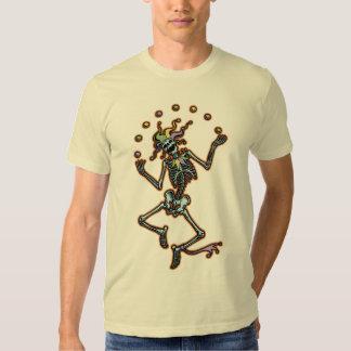 Juggling Jester Skeleton T Shirt