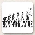 Juggling Juggler Juggle Evolution Sports Art Beverage Coaster