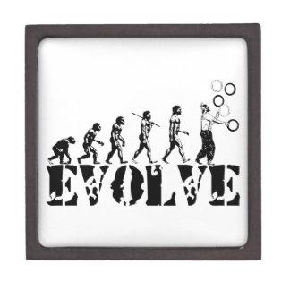 Juggling Juggler Juggle Evolution Sports Art Premium Trinket Boxes
