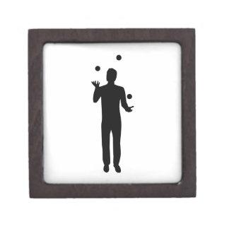 Juggling juggler premium trinket box