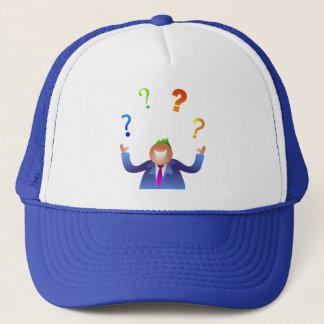 Juggling Questions Trucker Hat