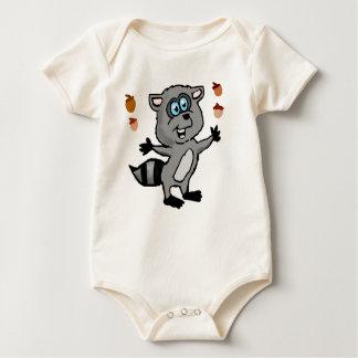 Juggling Raccoon Baby shirt