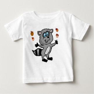 Juggling Raccoon Infant shirt