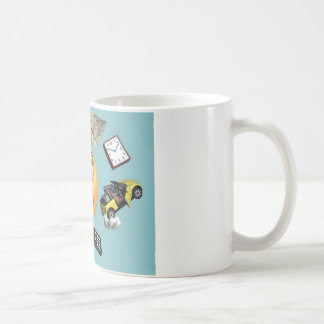 "Juggling ""Smiley"" Girl Coffee Mug"