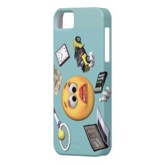 "Juggling ""Smiley"" Girl iPhone SE/5/5s Case"