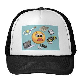 "Juggling ""Smiley"" Girl Trucker Hats"