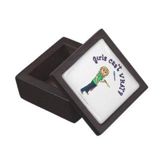 Juglar de sexo femenino ligero caja de joyas de calidad