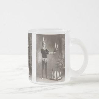 Juglar del fuego del vintage taza de cristal