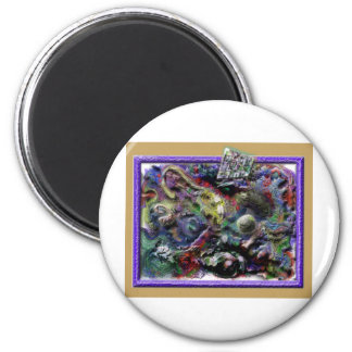 juglar del rafft del rufus imán redondo 5 cm