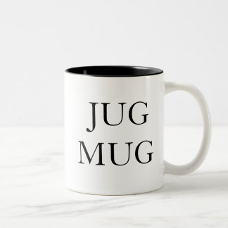 JUGMUG Two-Tone COFFEE MUG