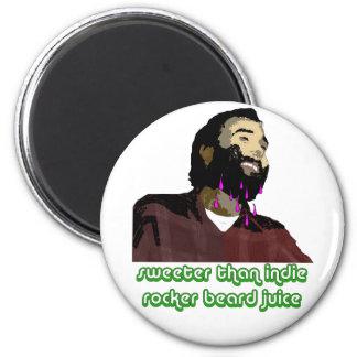 Jugo 2 de la barba imán de nevera