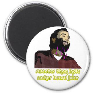 Jugo 4 de la barba imán para frigorífico