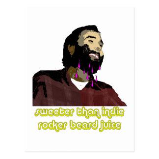 Jugo 4 de la barba tarjetas postales