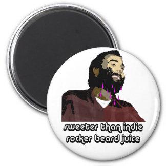 Jugo 6 de la barba imán de frigorifico