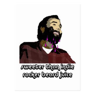 Jugo 6 de la barba tarjeta postal