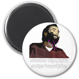 Jugo 8 de la barba imán de frigorífico