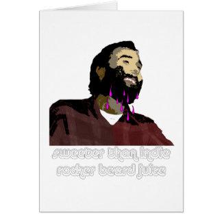 Jugo 8 de la barba tarjetas