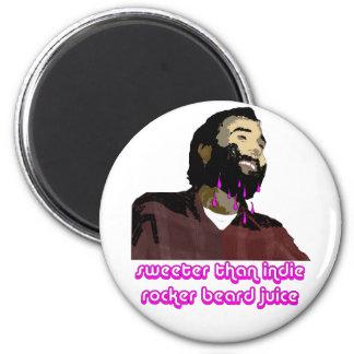 Jugo 9 de la barba imán de frigorífico