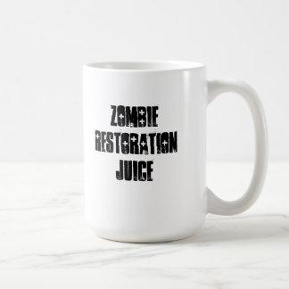 Jugo de la restauración del zombi taza clásica
