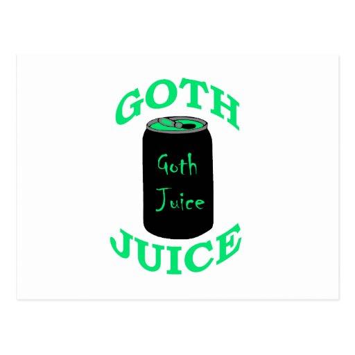 Jugo del gótico postal
