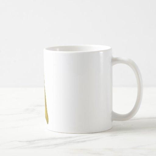 jugo del plátano taza básica blanca