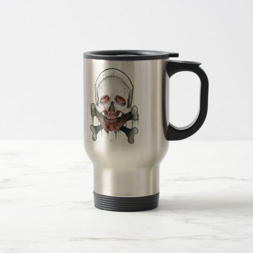 Jugo del zombi taza de café