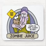 Jugo Mousepad del zombi Alfombrillas De Raton