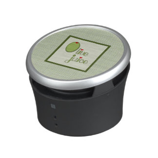 Jugo verde oliva altavoz bluetooth