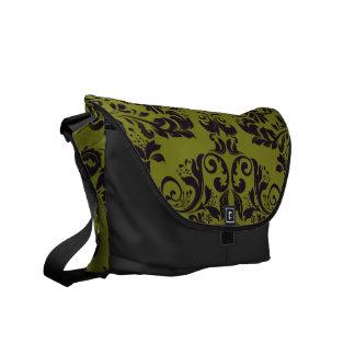 Jugo verde oliva bolsas de mensajeria