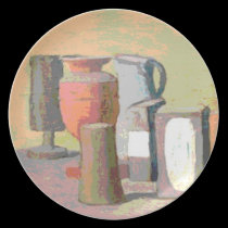 Jugs and Boxes plates