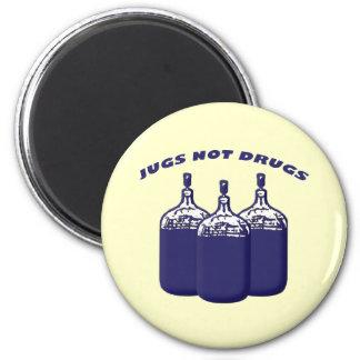 Jugs Not Drugs Magnet