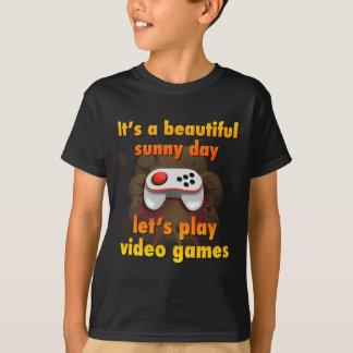 Juguemos a los videojuegos playera