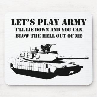 Juguemos al ejército tapetes de raton